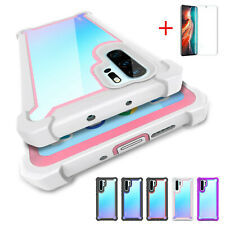 Case For Huawei P30 P40 Pro Lite Hybrid Rugged New TPU Shockproof Silicone Cover