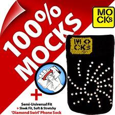 Mocks Joyas Teléfono Móvil MP3 Sock Funda Estuche Funda para iPhone 4s 5c 5sSE