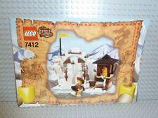 Lego ® Orient Expedition receta 7412 yeti's escondite instruction b652