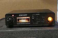 New listing Vintage 1980's Escort Cincinnati Microwave Radar Detector + Case & Manual