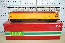 LGB 30260 D&RGW Denver & Rio Grande Observation Car *G-Scale* NEW
