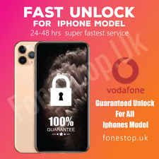 Vodafone Express Unlock Code service for  I phone 11,11 PRO,11PRO MAX ✅1-2 Days