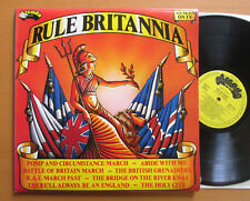 RULE BRITANNIA Royal Marines London Philharmonic 2xLP NEAR MINT Gatefold ADE P29