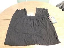 Carole Little Womens' Rayon Elastic-Waist Pants, Sz 16, Black, NWT, FREE S&H