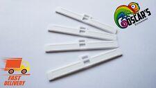 Pack x10 Twin Hole  Vertical Blind Top Hangers - 89mm Repair Kit Premium Quality