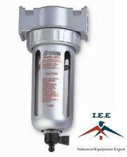 "1/2"" MID FLOW COMPRESSED AIR IN-LINE PARTICULATE FILTER WATER TRAP SEPARATOR"