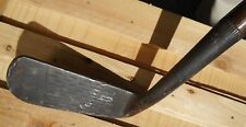 Wilsonian Goose Neck Putter -Hickory Shafted Hand Forged -Right Hand Good