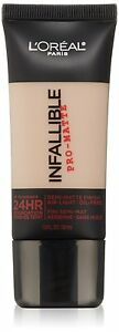 L'Oreal Infallible Pro-Matte 24Hr Foundation ~ Choose From 24 Shades (READ)