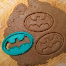Batman Emblem cookie cutter - 1pcs - Plastic 3d printed (PLA)