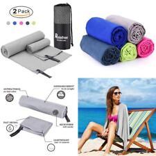 "2PCS Microfiber Towel, 60""X30"" Travel Sports Gym Quick Drying, Lightweight,..."