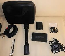 Lectrosonics UCR190 UHF Wireless Receiver & UH190 UHF Transm  Freq 572.200 +Mics