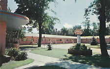 Mayfair Motel PORTAGE LA PRARIE Manitoba Canada Advertising Postcard