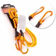"""New Heavy Duty 72"""" Long Bungee Cord Strap Spring Loaded Carabiner Clip Camping"""