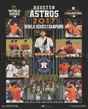 Houston Astros 2017 World Series Championship Picture Plaque