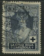 Spain 1926 Red Cross Semi-Postal 40 centimos used