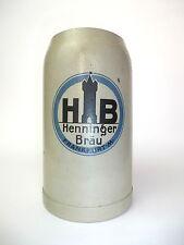 Bierkrug um 1910 Henninger Bräu Frankfurt am Main Krug
