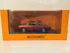 1 43 Minichamps Fiat X1/9 1974 Red Maxichamps-series