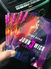 John Wick Chapter 3 Parabellum - BLU-RAY +DVD+SLIPCOVER - Brand New!