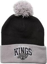 Mitchell Ness Tarck Cuff los Angeles Kings Knit Beanie Black