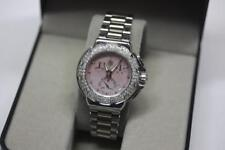 Tag Heuer Formula 1 Pink MOP Diamond Dial Bezel S ub-Dial Watch CAC1311-NA 7591