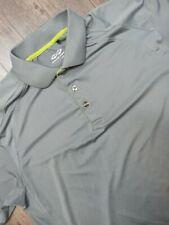 New listing Snake Eyes Polo Shirt Adult Medium Gray Golf Short Sleeve Rugby Casual Mens