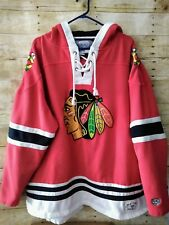 Chicago Blackhawks Old Time Hockey Causeway Collections Hoodie Sweatshirt  XXL