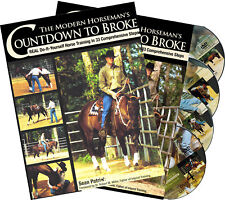 Modern Horseman's Countdown to Broke Combo: 4DVD & Book Set - NEW