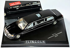 Lincoln Town Car Stretch Limousine 2000 schwarz black 1:43 Sun Star