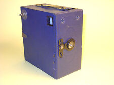 Blue (!) Ensign E29 Box camera in extremely good condition