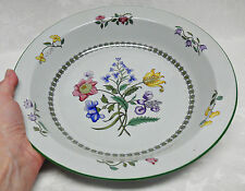Spode SUMMER PALACE W150 Fine Stone Large Rimmed Serving Bowl / XL Pie Plate