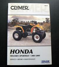 Honda TRX250EX SPORTRAX 2001-2005 Service Repair Maintenance Workshop Manual