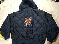 Rare Vintage NEW Platinum Fubu Fat Albert BOMBER Jacket Size XXL