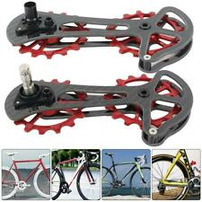 ZTTO Road Bicycle Bike Rear Derailleur Cage Ceramic Pulley Wheel Drivetrain 16T❤
