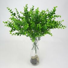 7-Branches Artificial Fake Plastic Eucalyptus Plant Flower Cafe Table Home Decor