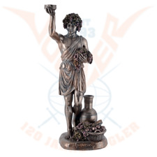 Dionysus Greek God of Wine & Festivity Cold Cast Bronze Statue .Great details.