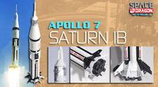 Dragon Plastic Model Kits #56242 1:400 Apollo 7 Saturn IB finished model
