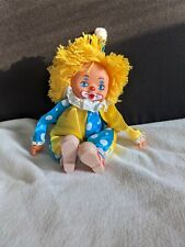 Vintage 1970s Russ berries co Clown Face doll.