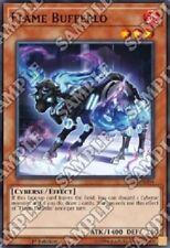 "YUGIOH!! ""Flame Bufferlo"" SDPL-EN004! Super Rare! Near Mint! 1. Edition!"