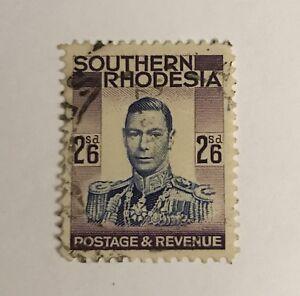 Southern Rhodesia Sg 51 F/U Cat £8,50