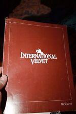"Oscar Solicitation Promotional Brochure for movie ""International Velvet"""