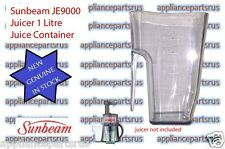 Sunbeam JE9000 Slow Juicer 1 Litre Juice Container Part JE90005 NEW - GENUINE