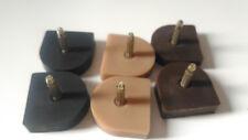 Tapas para zapatos tacones de mujer sin Ruido 22 mm NEGRO - MARRON - BEIGE 6 UND