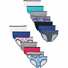 Hanes Girls Hipsters 14-Pack, 6, Assorted