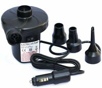 12V DC Air Pump for Electric Intex Inflatable Air Mattress Bed Boat Couch Pool
