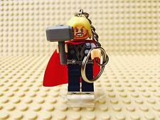 Marvel Thor Lego Minifigure Keyring UK SELLER