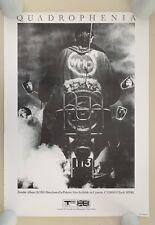 THE WHO, ' QUADROPHENIA'',RARE REPRODUCTION 1990's  POSTER