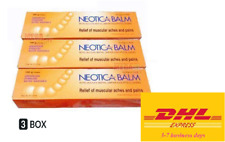 3 x 100g Neotica Balm Analgesic Balm Relief of Muscular Aches and Pains