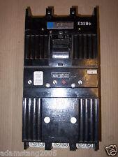 GE TB 3 pole 125 amp 600v TB43125 TB43F Tri Break Circuit Breaker
