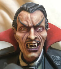 COMIC-STYLE DRACULA REPLACEMENT HEAD, FITS THE MOEBIUS BELA LUGOSI MODEL KITS