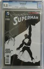 Superman vol 3, #33 - John Romita, Jr. B&W Variant Cover 1:50 - CGC 9.8